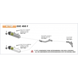 EXC 450 F 2020 COLLETTORE