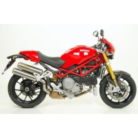 Monster S4R - S4RS Testa Stretta 06/07 ROUND-SIL CARB.